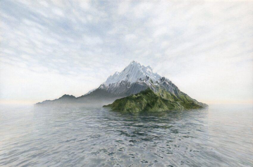 'Computer-Generated Island' image